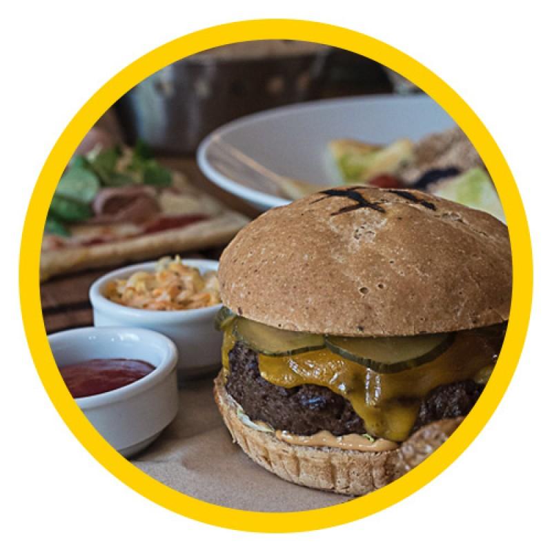 Ψωμάκια burger (συσκευασία των 2) - Διατίθεται στον Ν. Αττικής