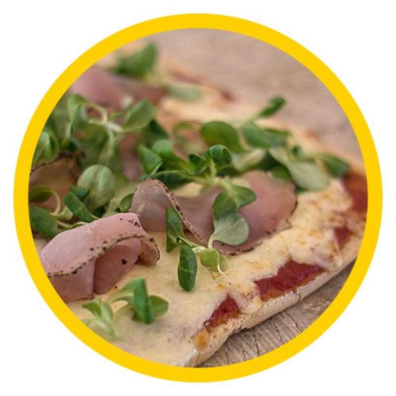 Ημιψημένη βάση πίτσας (συσκευασία των 2) - Διατίθεται στον Ν. Αττικής